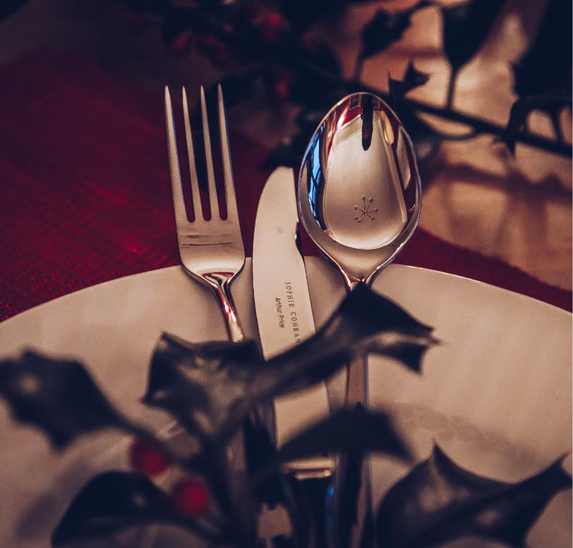 "ASHLEIGH Design ARTHUR PRICE Sheffield Silver Service Cutlery Table Fork 7¾/"""